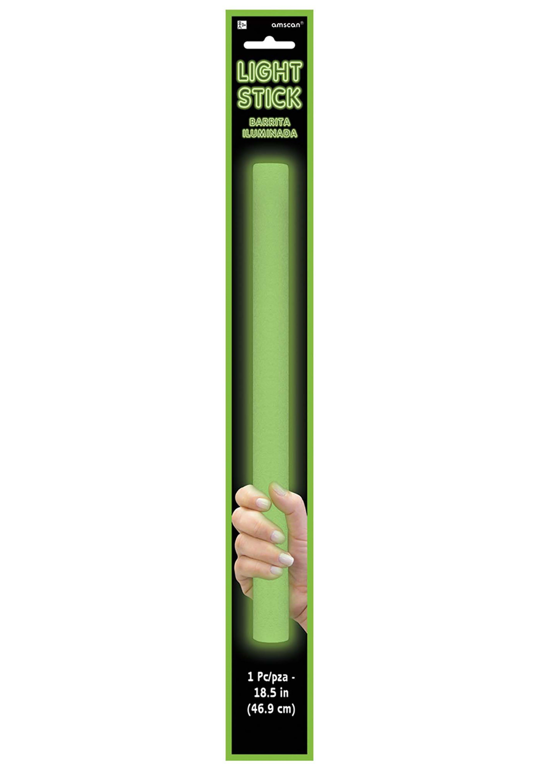 18_Inch_Green_Foam_Light_Up_Glow_Stick
