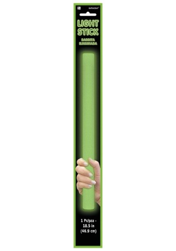 Green Foam Light Up Glow Stick - 18""