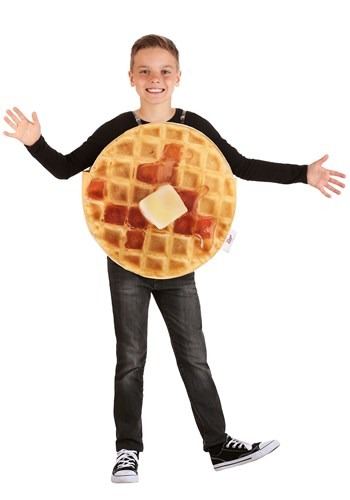 Click Here to buy Eggo Waffle Kids Costume from HalloweenCostumes, CDN Funds & Shipping