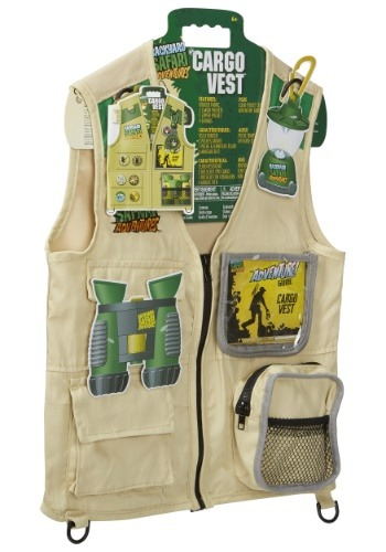 Back Yard Kid's Safari Cargo Vest