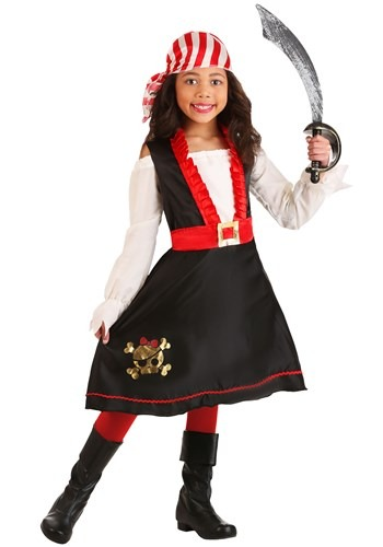 Girl's Pretty Pirate Costume