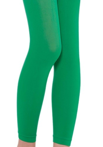 Child's Green Leggings