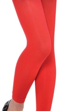 Child Red Leggings