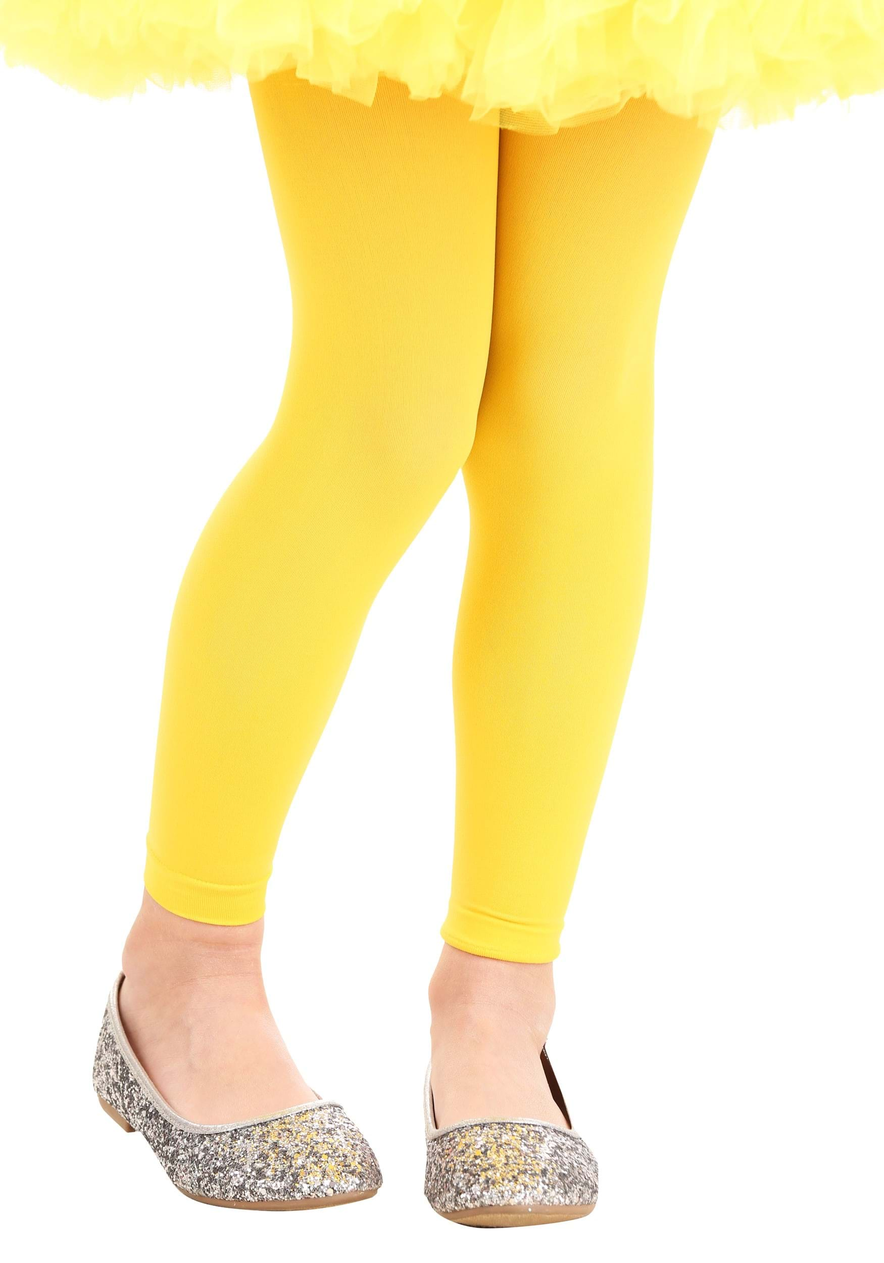 Girl's_Yellow_Tights
