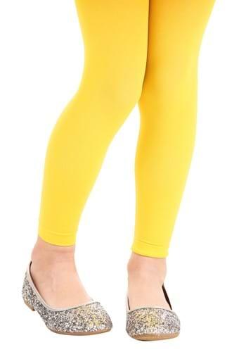 Girls Yellow Tights