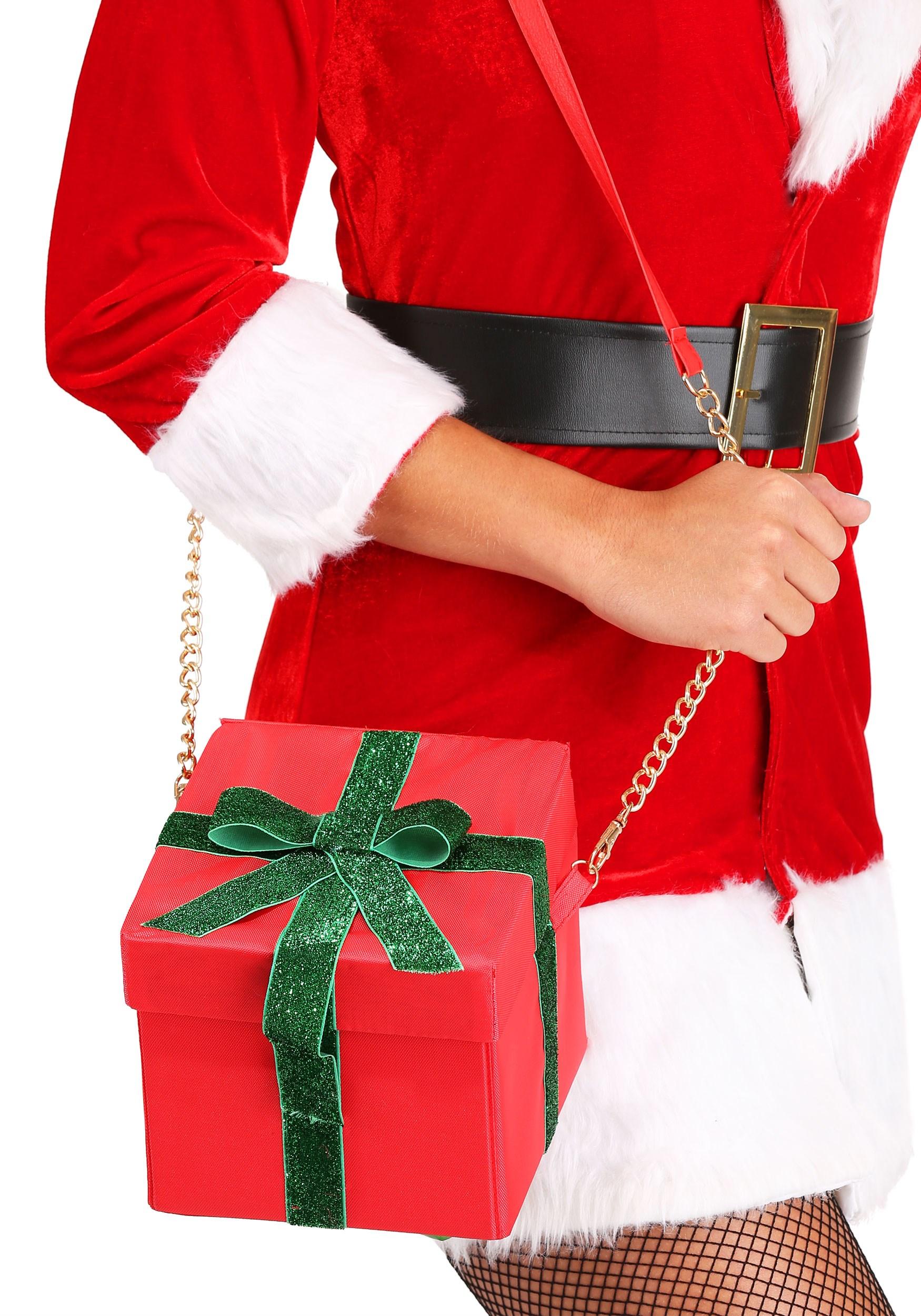 Present Box Purse for Women (FUN7305AD-ST FUN7305AD) photo