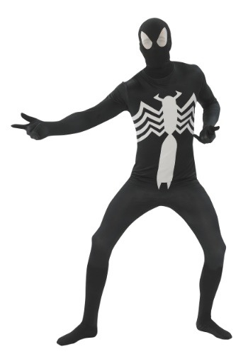 Black Spider-man 2nd Skin Adult Size Costume