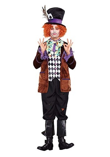 Click Here to buy Hatter Madness Mens Costume from HalloweenCostumes, CDN Funds & Shipping