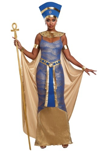 Click Here to buy Womens Egyptian Nefertiti Costume from HalloweenCostumes, CDN Funds & Shipping