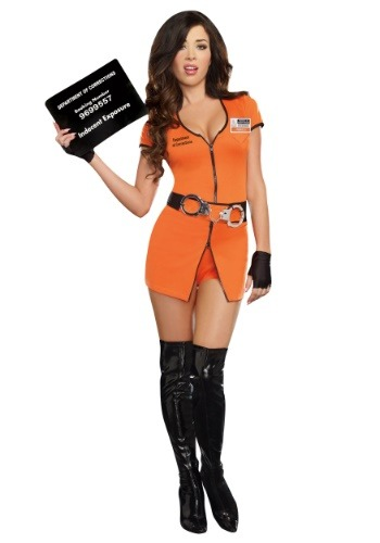 Womens Locked Up Prisoner Costume