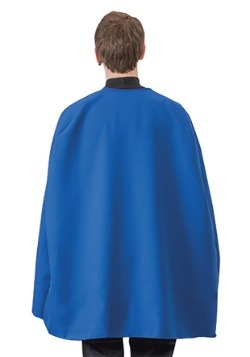 Adult Blue Superhero Cape