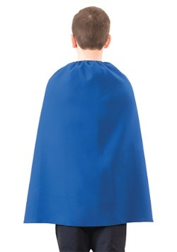 Childs Blue Superhero Cape