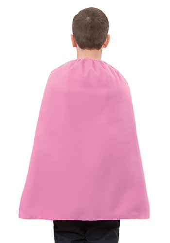 Pink Superhero Child's Cape