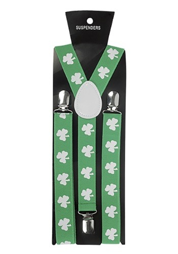 St. Patrick's Day Suspenders
