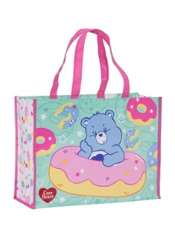 Care Bears' Large Recycled Shopper Tote Treat Bag