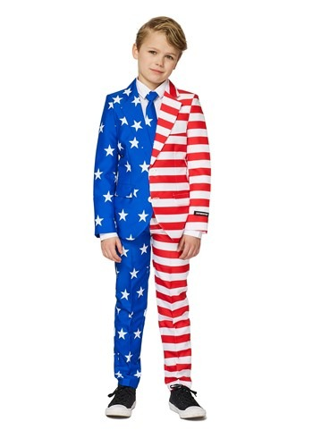 USA Flag Suitmeister Suit Costume for Boys