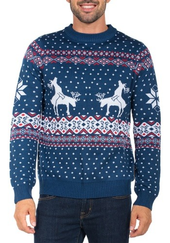 Reindeer Climax Tipsy Elves Ugly Christmas Sweater