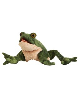 """Folkmanis Toad 11"""" Puppet"""