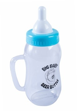Baby Beer Bottle Blue
