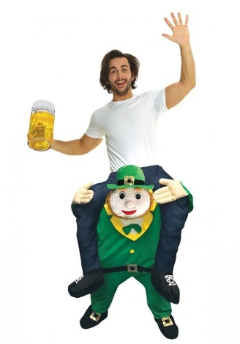 Click Here to buy Adult Leprechaun Piggyback Costume from HalloweenCostumes, CDN Funds & Shipping