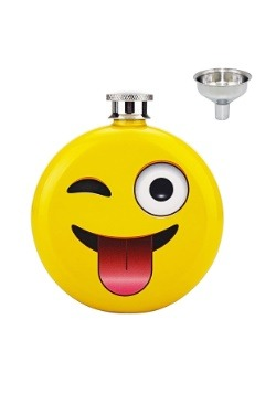 Emoji 5 oz. Flask for Adults