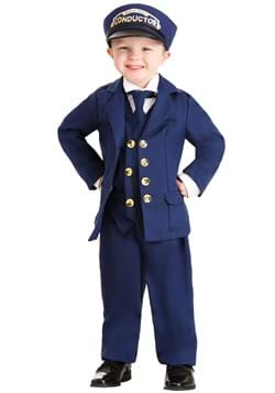 North Pole Train Conductor Costume Toddler