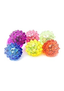 Strawberry Bump Flashing Ring Assorted Colors