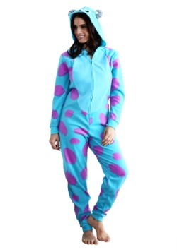 Women's Sulley Pajama Costume