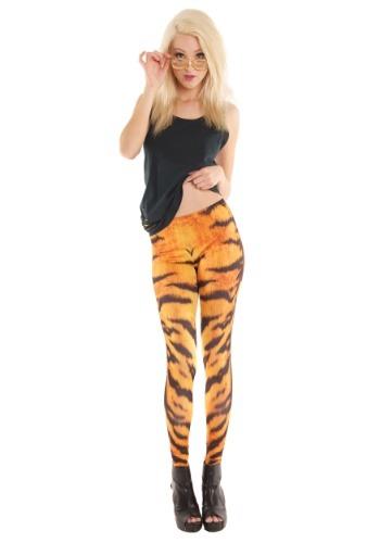 Adult Tiger Print Leggings