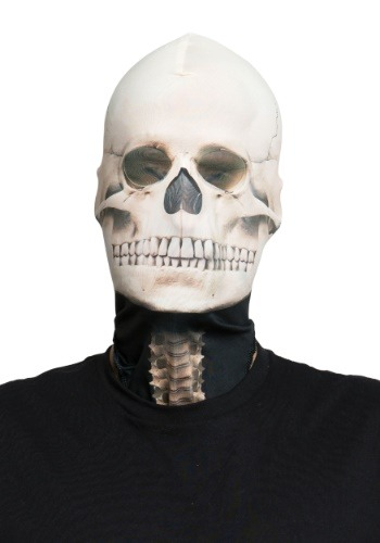 Click Here to buy Fabric Adult Skeleton Mask from HalloweenCostumes, CDN Funds & Shipping