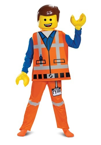 LEGO Movie 2 Boys Emmet Deluxe Costume