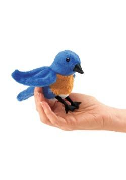 Folkmanis Mini Bluebird Finger Puppet