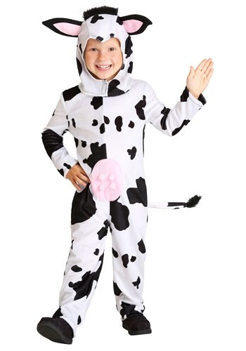Click Here to buy Toddlers Cow Costume from HalloweenCostumes, CDN Funds & Shipping