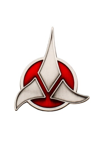 Click Here to buy Star Treks Klingon Emblem Badge from HalloweenCostumes, CDN Funds & Shipping