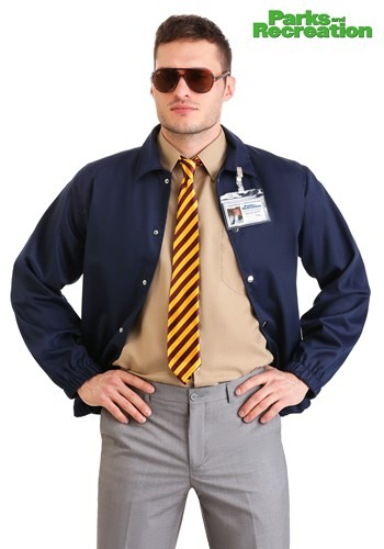 Parks and Recreation Adult Burt Macklin Costume