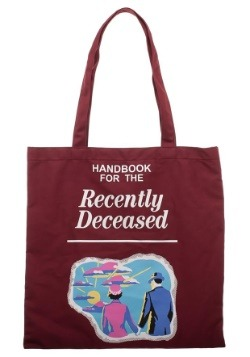 Beetlejuice Handbook for the Recently Deceased Canvas Tote