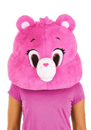 Care Bears Cheer Bear Mascot Mask for Adults