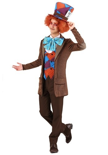 Wild Mad Hatter Costume for Adults