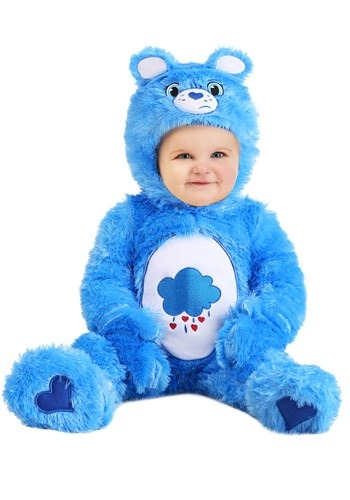 Click Here to buy Baby  Care Bears Grumpy Bear Costume from HalloweenCostumes, CDN Funds & Shipping