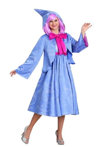 Click Here to buy Disney Cinderella Fairy Godmother Plus Size Womens Costume from HalloweenCostumes, CDN Funds & Shipping