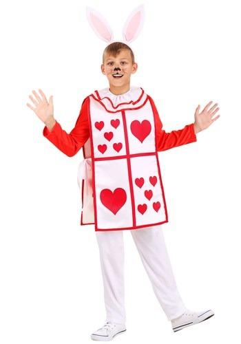 Royal White Rabbit Childs Costume