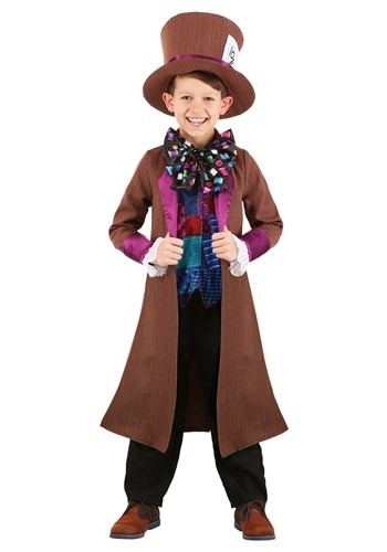 Wacky Mad Hatter Childs Costume