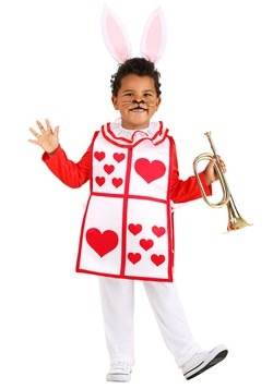 Toddler's Royal White Rabbit Costume
