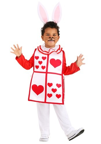 Royal White Rabbit Toddlers Costume