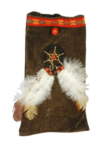 Click Here to buy Native American Costume Pouch from HalloweenCostumes, CDN Funds & Shipping