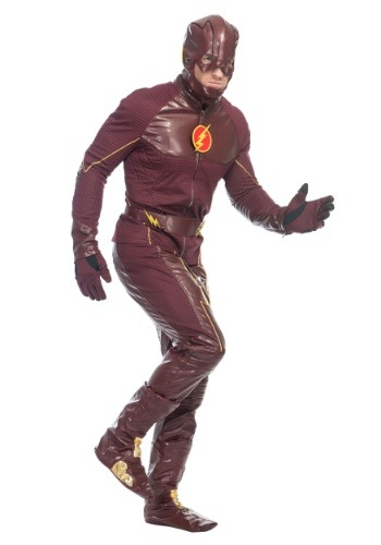 Click Here to buy The Flash Premium Mens Costume from HalloweenCostumes, CDN Funds & Shipping