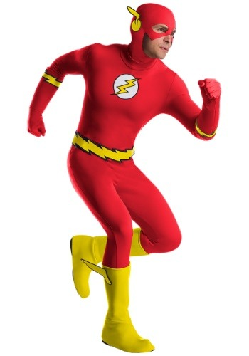 Click Here to buy The Flash Classic Mens Costume from HalloweenCostumes, CDN Funds & Shipping