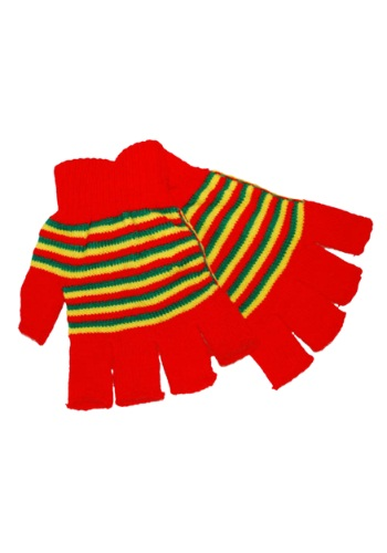 Fingerless Clown Gloves