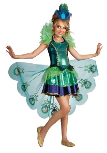Peacock Childs Costume