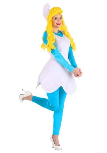 Click Here to buy Womens Adult The Smurfs Smurfette Costume from HalloweenCostumes, CDN Funds & Shipping
